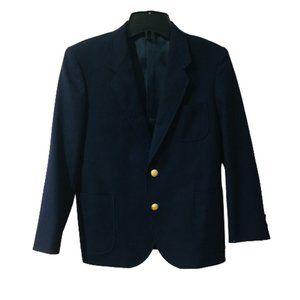 Les Enfants Navy Blue Suit Blazer